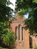Gotische Fenster der Klosterkirche