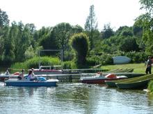Bootfahren und Angeln am Neuklostersee