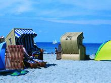 Der Strand auf der Insel Poel